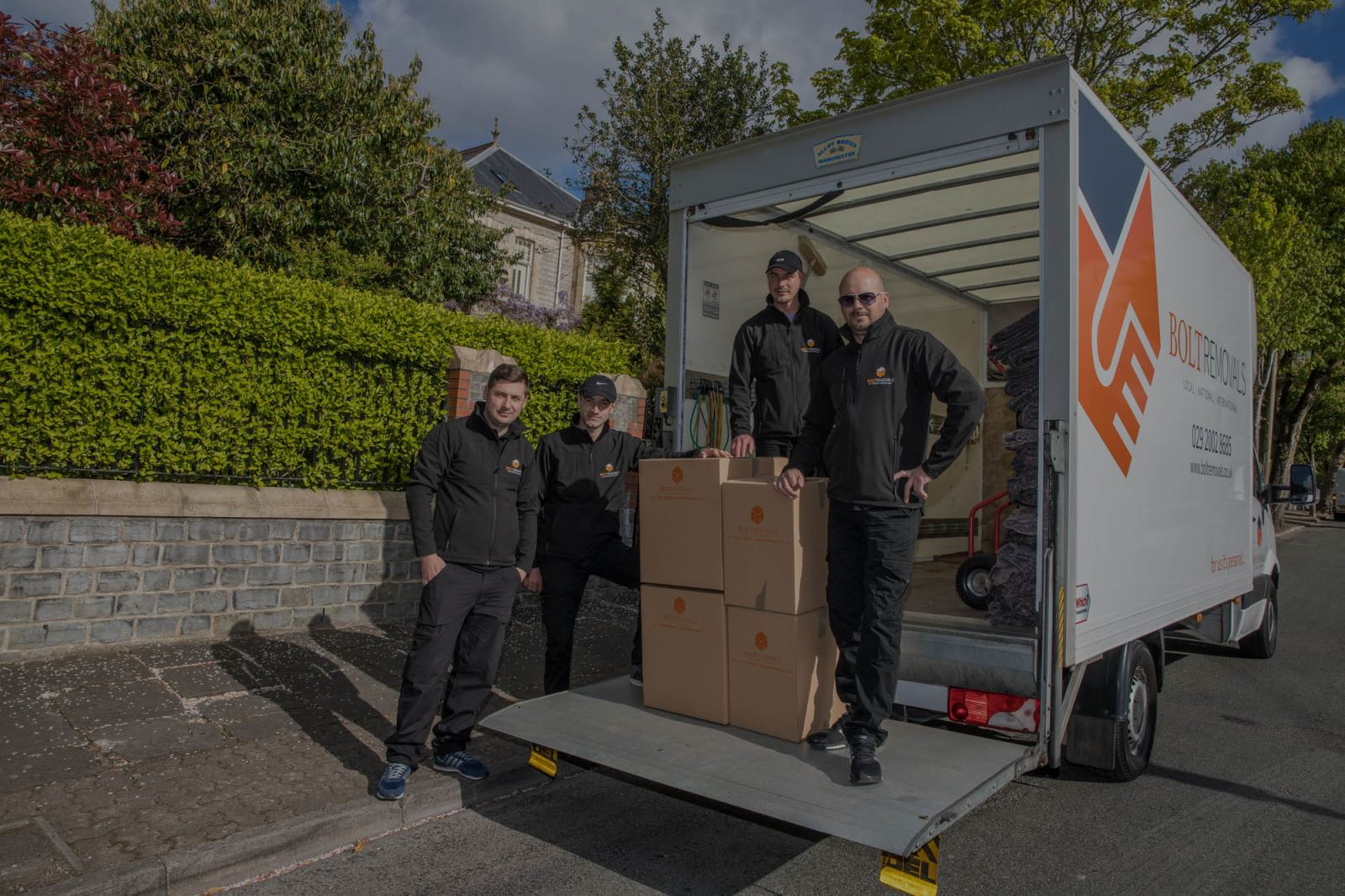 House removals from Bolt Removals in Cardiff